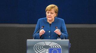 Après Macron, Merkel prône elle aussi la création d'une armée européenne
