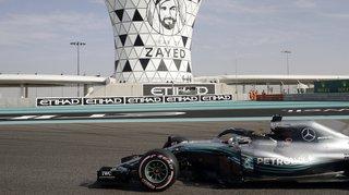 GP d'Abou Dhabi: Hamilton en pole position