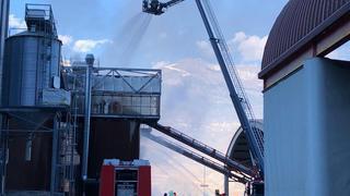 Uvrier: incendie sur le site de Valpellets