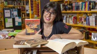 A la bibliothèque de Savièse, il n'y a pas que Harry Potter