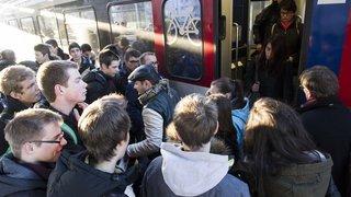 Trafic ferroviaire: le canton du Valais réfléchit à décaler les horaires de cours des collèges