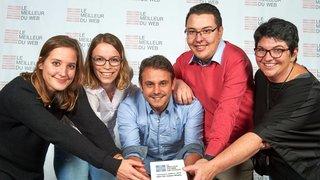 Lausanne: la HES-SO Valais rafle deux prix au Meilleur du web