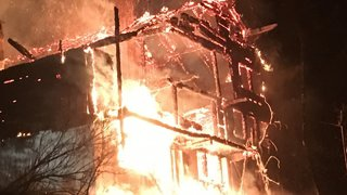 Incendie: un chalet entièrement détruit aux Diablerets (VD)