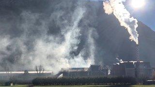 Uvrier: l'incendie sur le site de Valpellets est maîtrisé