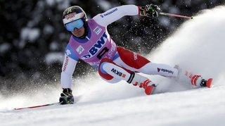 Le skieur d'Hérémence Loïc Meillard fait honneur à ses ambitions