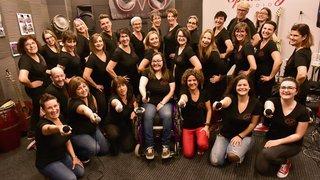Monthey: le groupe vocal Openstage vise la finale de «Chorus» pour chanter avec sa présidente