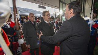 Président du Conseil des Etats Jean-René Fournier est reçu en Valais