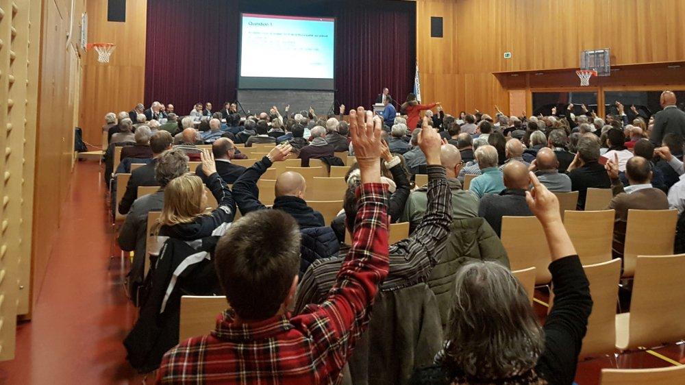 211 personnes ont participé à l'assemblée primaire de Crans-Montana.