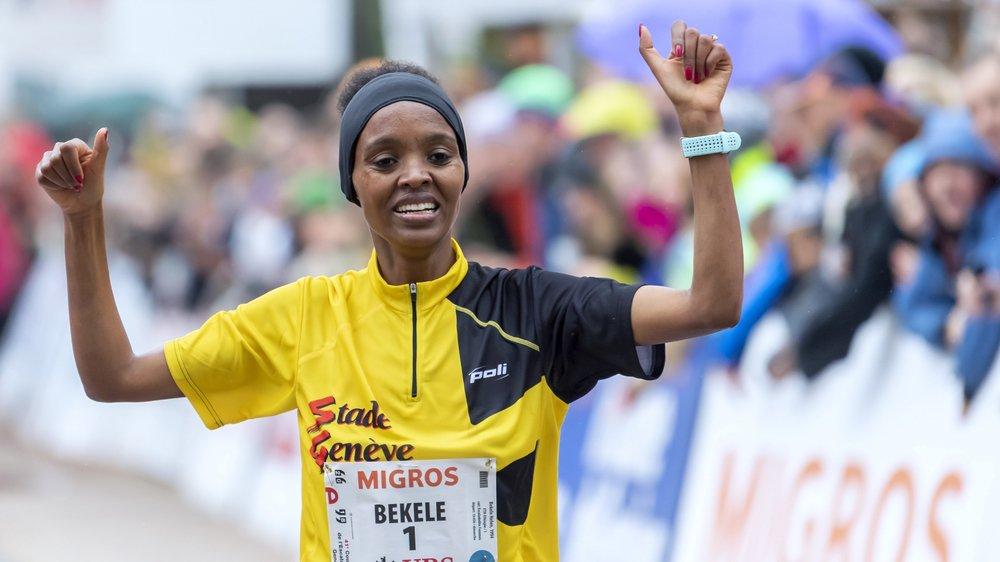Sur la première marche du podium à Genève le week-end dernier, Helen Bekele est la favorite pour s'imposer à Sion.