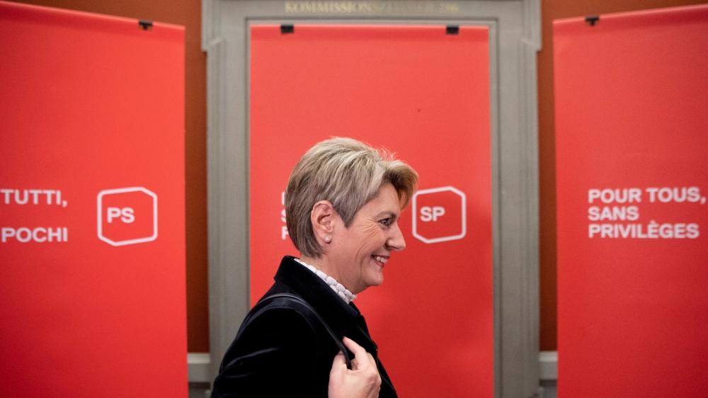 Karin Keller-Sutter favorite côté PLR