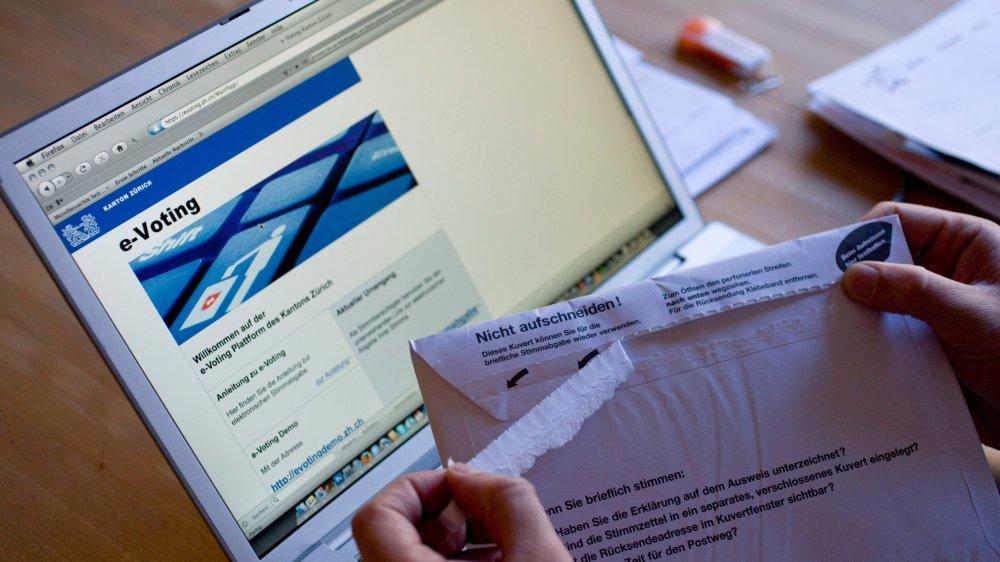 Vers une initiative  contre le vote électronique