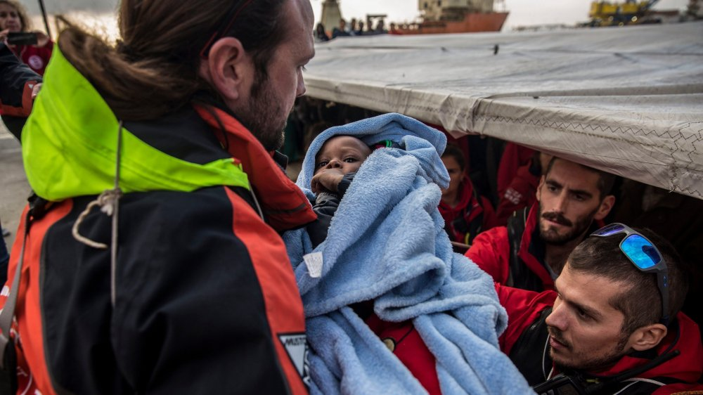 311 migrants sont arrivés hier à San Roque.