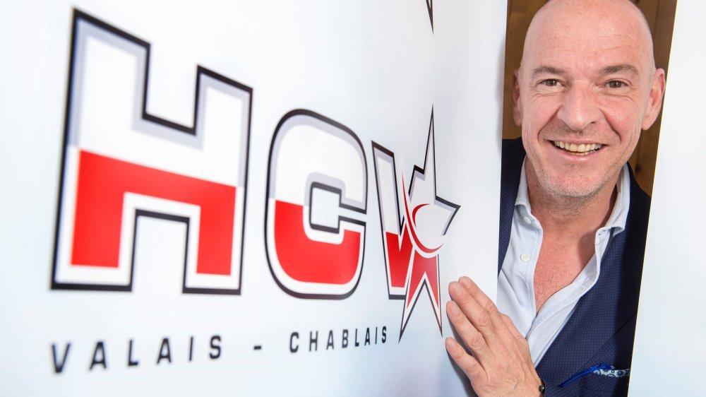 Patrick Polli, désormais seul président du HC Valais-Chablais, défend avant tout la cohésion cantonale. Il veut mettre l'accent sur la formation.