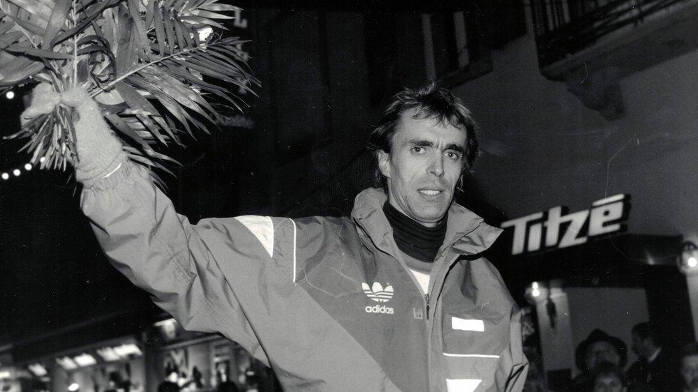 Pierre Délèze, dix fois vainqueur de la Course de Noël. La dernière fois, c'était en 1992.