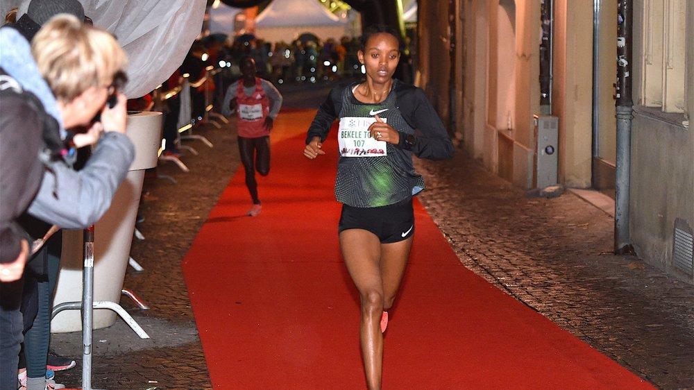 Helen Bekele a relégué ses concurrentes très loin derrière elle.