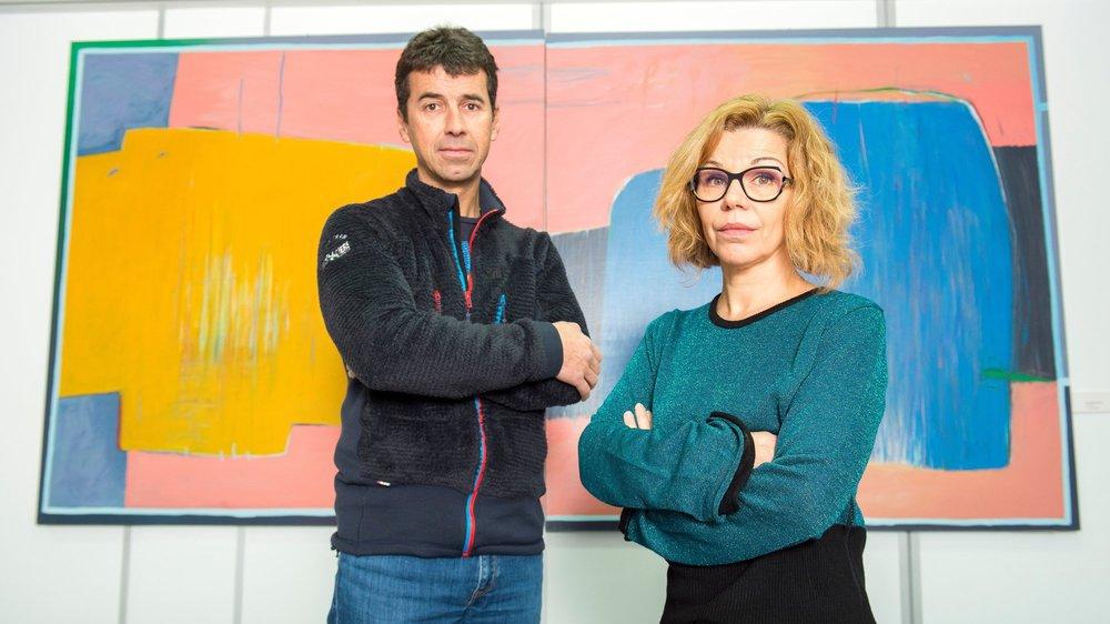 Pascal Gaspoz, chef de l'intervention, et Marie-Noëlle Besson, présidente de l'association des psychologues urgentistes, reviennent sur le drame du Pigne d'Arolla qui a coûté la vie à sept randonneurs fin avril.