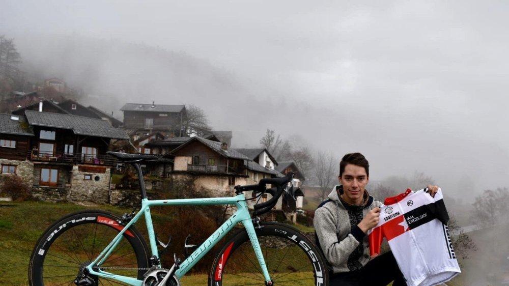 Simon Pellaud attendra ses nouveaux coéquipiers chez lui, en Colombie.