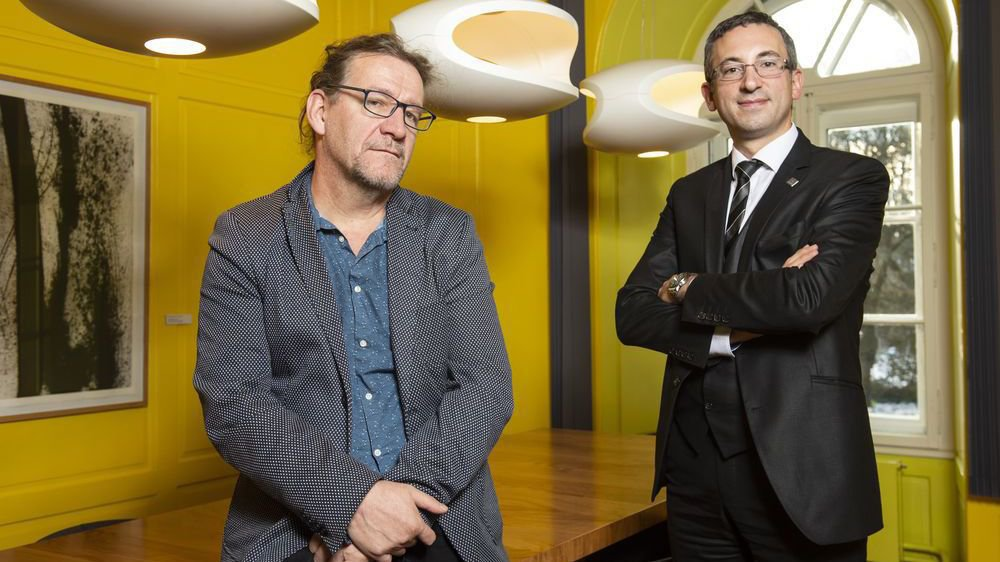 Gabriel Bender, sociologue, et Frédéric Favre, conseiller d'Etat chargé des sports, reviennent sur le projet Sion 2026.
