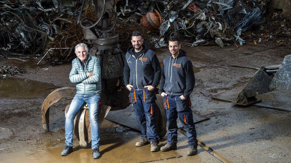 Patrick Birchler et ses fils, Cédric et Mathieu, nous ouvrent les portes de leur entreprise et leurs souvenirs.