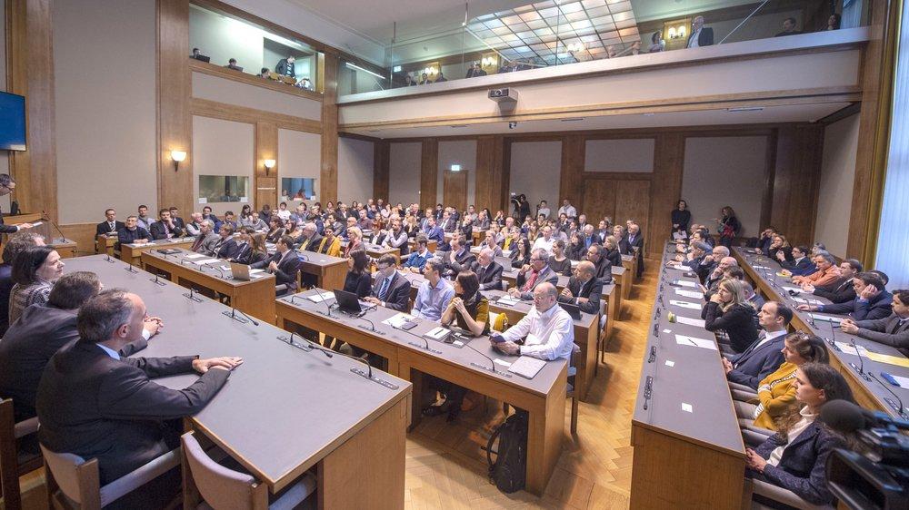 Le lundi 17 décembre 2018 restera une date historique pour le Valais: l'assemblée de la constituante a siégé pour la première fois.