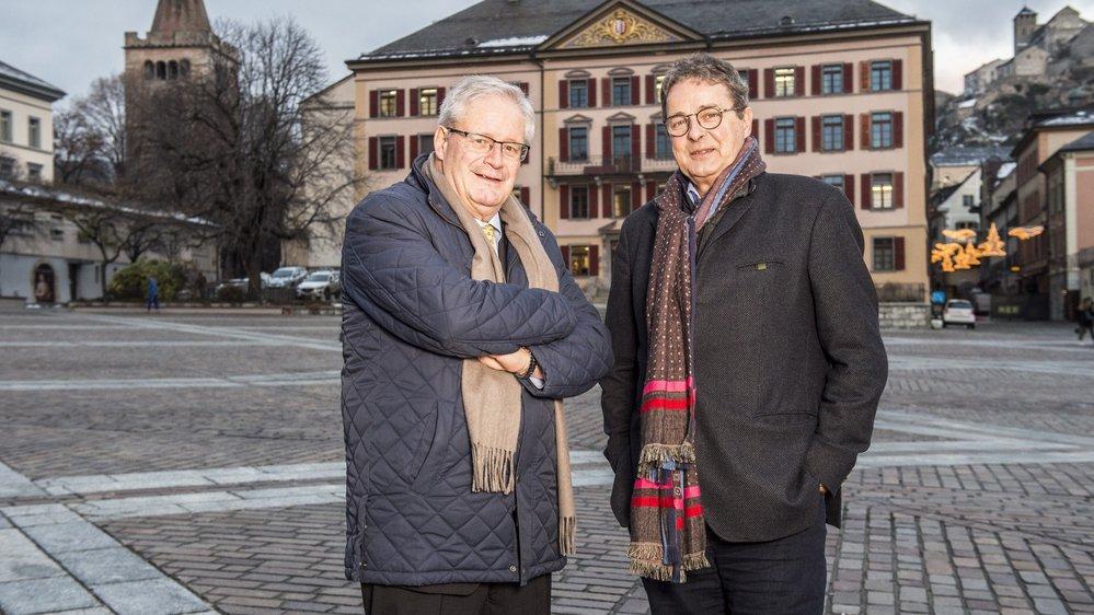 Rétrospective politique avec Jean Zermatten, président de la constituante, et Jean-René Fournier, président du Conseil des Etats.