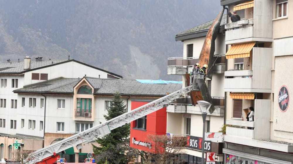 Tempête Marilou: les rafales ont fait des dégâts limités en Valais