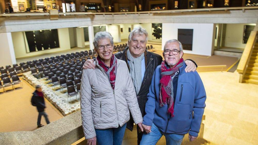 Les Fribourgeois Thèrese Kolly et Georges Guex ont été accueillis à leur arrivée par Léonard Gianadda en personne. A leur entrée, l'institution martigneraine a franchi la barre des 10 millions de visiteurs.