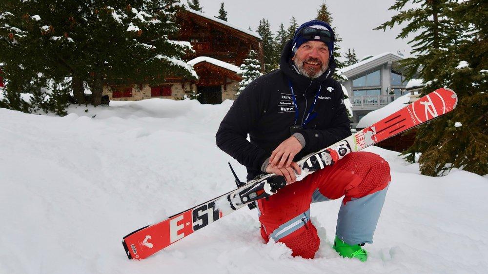 Denis Wicki dénombre plus de trente années de coaching dans le milieu du ski alpin et a épaulé de nombreux talents.