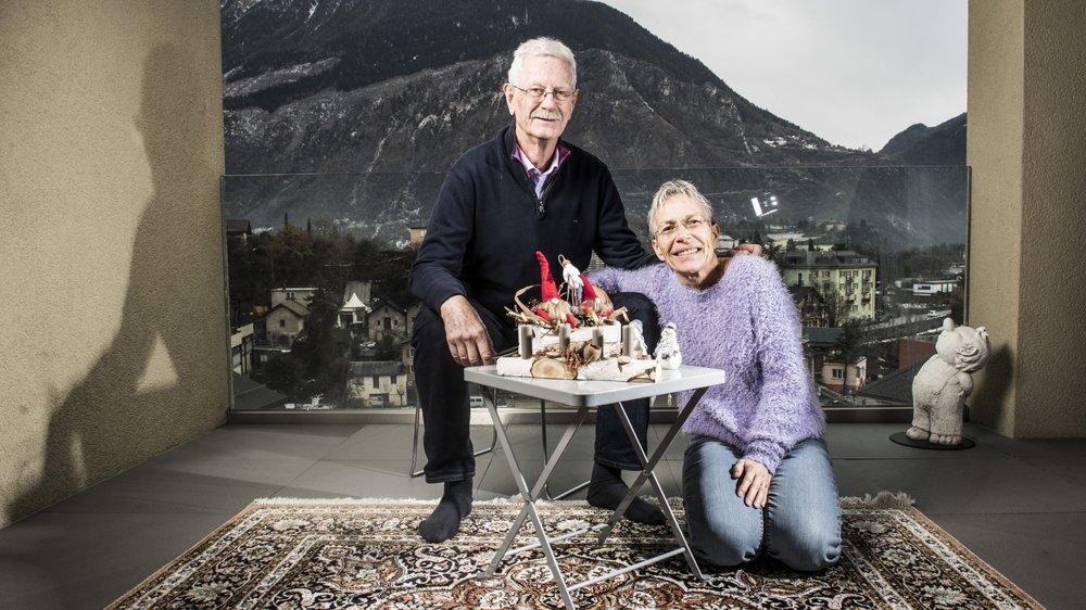 Depuis trois ans à Sierre, Monique et François Moret donnent leur 24 décembre aux autres.