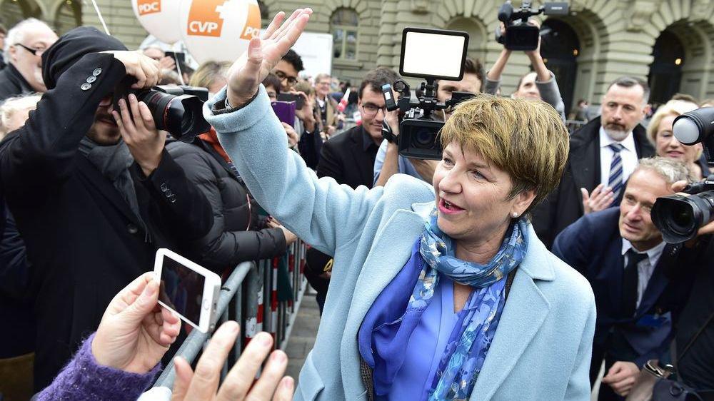 Depuis mercredi, 9 h 20, Viola Amherd est Madame la conseillère fédérale.