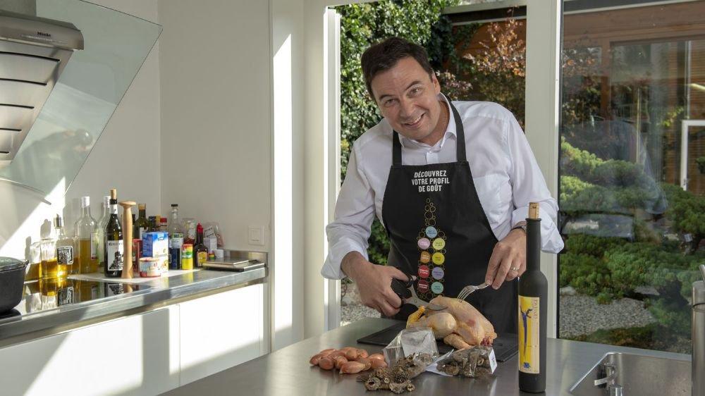 Philippe Varone tient de sa maman, française d'origine, son goût pour la gastronomie.