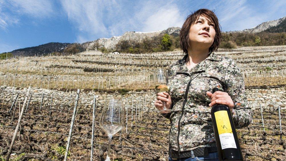 Valentina Andrei a été élue Espoir de l'année par le Gault&Millau et Swiss Wine Promotion.