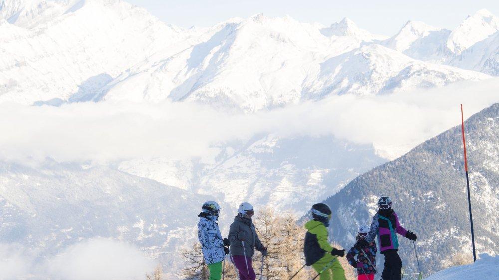 Avec une progression de 29% en journées-skieurs et de 19% en chiffres d'affaires, Vercorin a connu une belle saison.