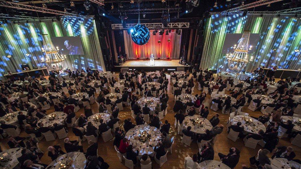 La réception de Viola Amherd s'est conclue par un banquet auquel étaient conviés 500 invités.