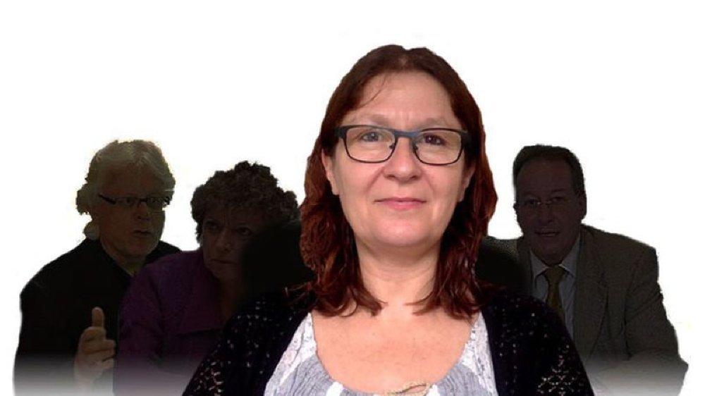 Viviane Cretton, anthropologue.