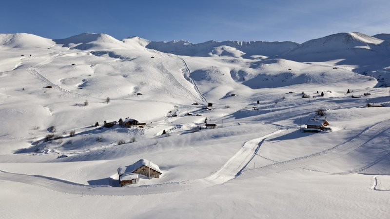 Grisons: cette station de ski peut devenir la vôtre et celle de vos amis pendant 24 heures