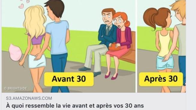 Depuis quelques jours, des dessins humoristiques circulent sur Facebook. Accompagnés d'un lien, ils mènent l'utilisateur du réseau social vers un site malveillant qui peut potentiellement pirater ses données personnelles.