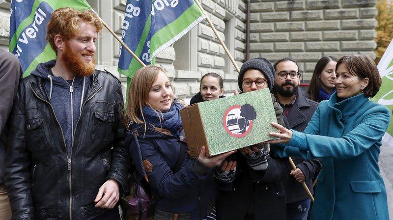 Votations fédérales: les Suisses diraient «oui» à l'initiative populaire contre le mitage