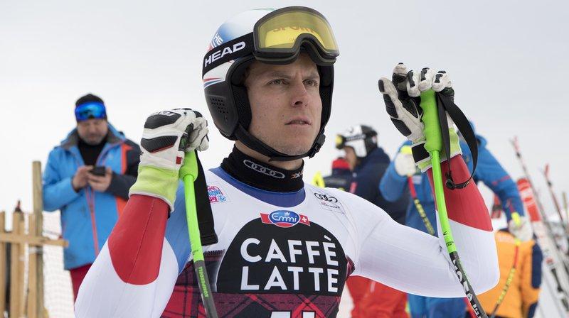 Ski alpin: le Suisse Ralph Weber se blesse à l'entraînement de la descente à Bormio