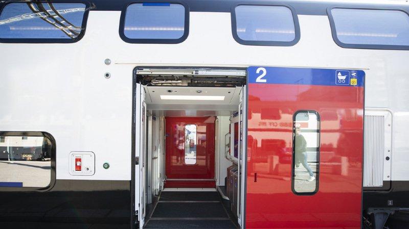 CFF: les trains à deux étages ne circuleront pas comme prévu dès ce weekend entre Genève et St-Gall