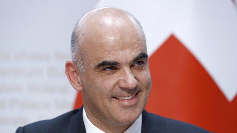 Suisse-UE: Berset estime qu'il sera difficile de faire accepter l'accord-cadre