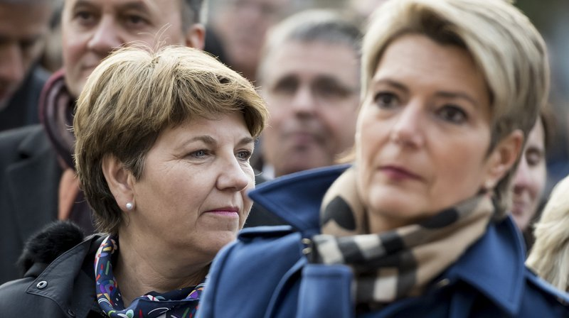 Conseil fédéral: Karin Keller-Sutter et Viola Amherd ont été élues au premier tour