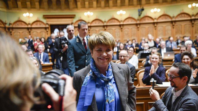 La Haut-Valaisanne Viola Amherd élue au Conseil fédéral