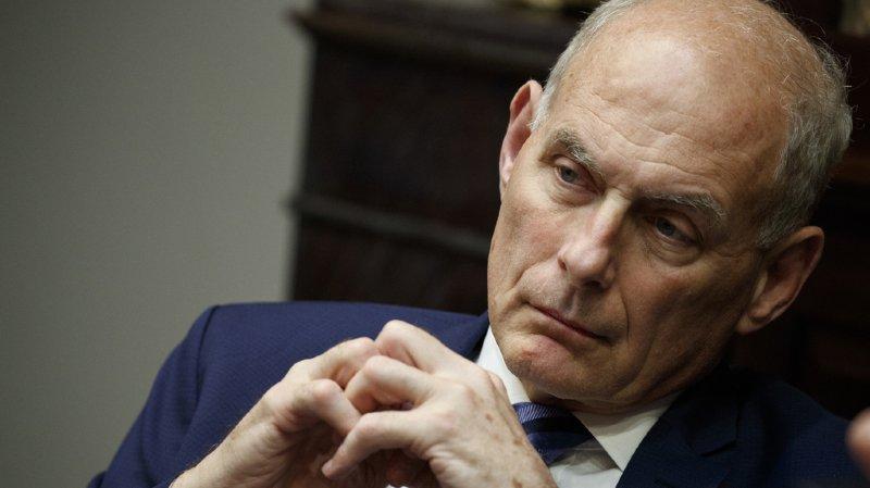 John Kelly, secrétaire général à la Maison Blanche et plus proche conseiller de Trump, partira à la fin de l'année.