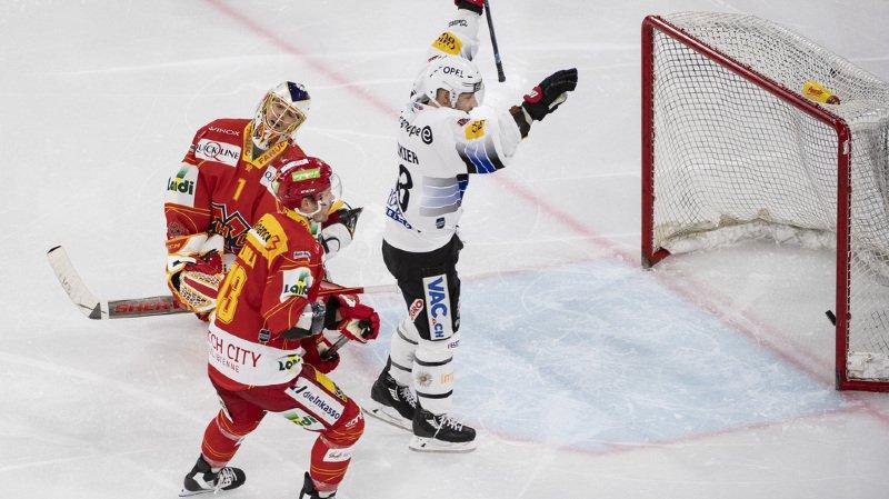 Ce samedi soir Fribourg-Gottéron bat Bienne 4-1 après une défaite 4-0 contre les Seelandais la veille.