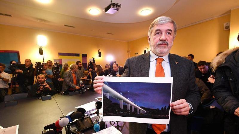 La construction du pont est estimée à 202 millions d'euros.