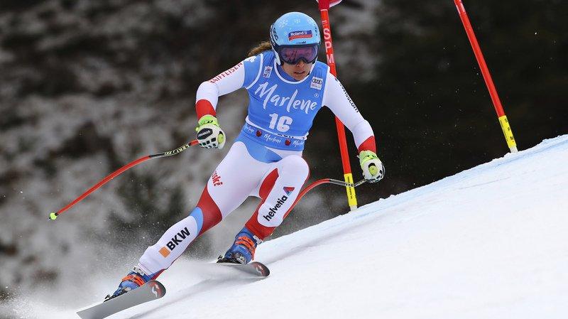 Ski alpin: Jasmine Flury (4e) à nouveau meilleure Suissesse du Super-G de Val Gardena remporté par Ilka Stuhec