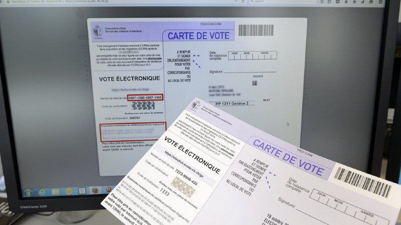 Les cantons et les électeurs décideront eux-mêmes s'ils veulent proposer et utiliser le vote électronique ou non. (illustration)