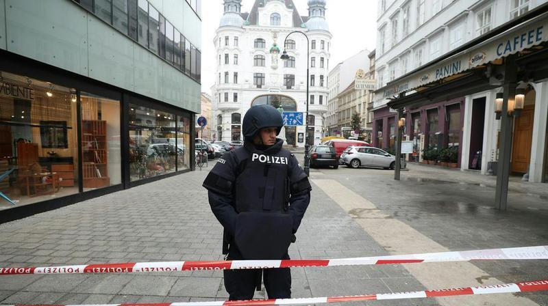 La fusillade s'est déroulée vers 13h30 dans le centre de Vienne.