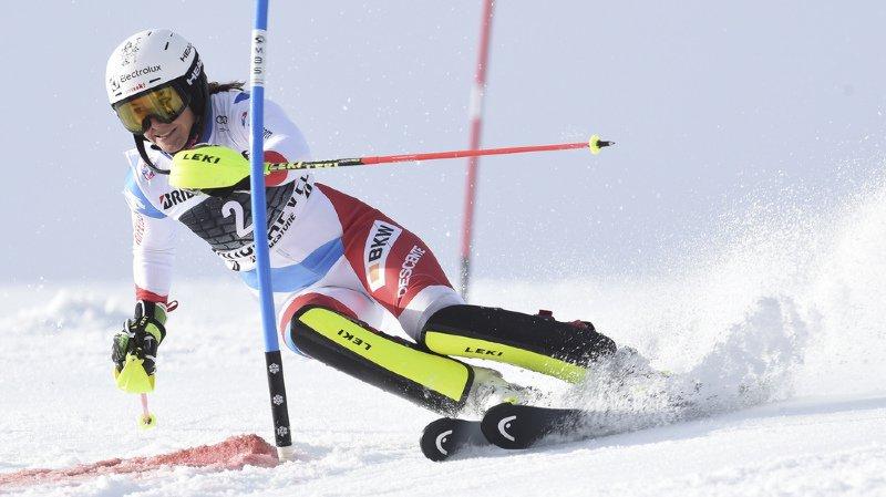 Ski alpin: Wendy Holdener 4e du slalom de Courchevel, 50e victoire pour Mikaela Shiffrin